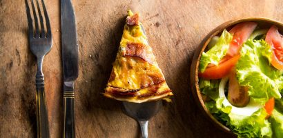 Healthy Bacon and Egg Pie for the whole Family   Just Tessa